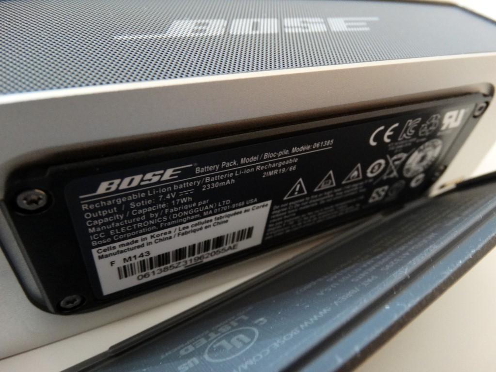 Bose Soundlink Mini A Dimunitive Bluetooth Speaker 3cga Tech Ops Ii With Travel Bag Dsc03001